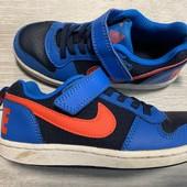 Кожаные кроссовки Nike оригинал 28 размер стелька 18 см ( на бирке 17 см)
