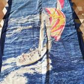 Махровий добротний плотний якісний банний рушник від Tukan у відмінному стані 150*75