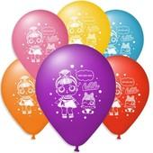 LoL воздушные шары 30 см супер лот! По блиц-цене в подарок раскраски!