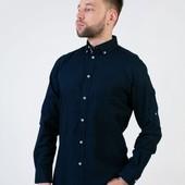 ЛЛ53.Стильная хлопковая рубашка Livergy Германия