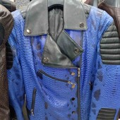 Куртка-косуха-шкіра-пітон❤️sale -70%!