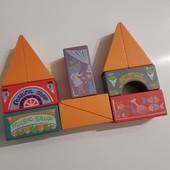 Конструктор (набор строительных элементов) для малышей
