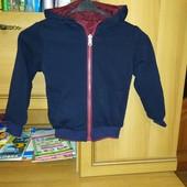 Курточка осіння двох стороння на 3 роки