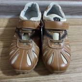 Туфли в спортивном стиле, нат.кожа, стелька 21,5см, последняя пара!