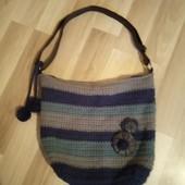 Фірменна в'язана сумочка в хорошому стані, 10% знижка на УП