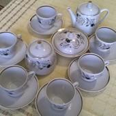 Чайний сервіз на 6 персон з часів союзу