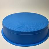 Форма для выпечки хлеба, кексов ,тортов, пасок силиконовая круглая