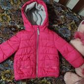 Супер яркая куртка для принцессы фирмы carter's