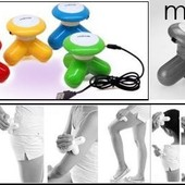 Мультифункциональный ручной мини-массажер Mimo