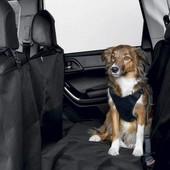 Накидка-покрытие для собак на задние сиденье. Отличная защита салона от шерсти,грязи и влаги Zoofari