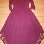 Оригінальне плаття з поясом