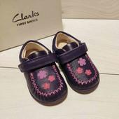 Кожаные туфельки Clarks 20, 21, 22,  размер. На выбор.