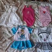 5 бодиков для малышки