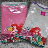 Disney Princess набор 2 шт. яркие хлопковые футболки Lidl Германия! Набор на выбор!