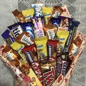 Букет с конфет
