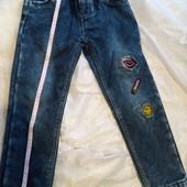 Суперові джинси 6 р. на резинці