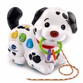 Інтерактивна собачка зі світлом та звуками vTech pull and sing Puppy, оригінал