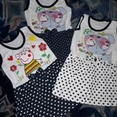 Супер! Классные платья на девочку 2-4 лет