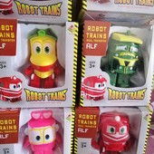 Новые герои Роботы-Поезда