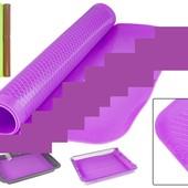 Готовим подарочки!!!Большой коврик для выпечки силиконовый антипригарный Stenson!!