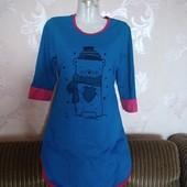 Классная туничка-платье для дома и так✓Новая✓Такая одна✓См.и др.мои лоты✓