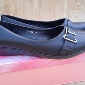 Стильні туфлі на танкетці