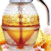 Диспенсер-емкость, дозатор для меда и соусов