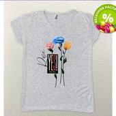шикарные женские футболки р.S,M,L,XLкачество супер,Турция (новые).