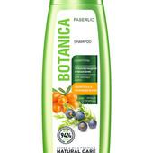 Шампунь «Глубокое очищение и увлажнение» для жирных волос Botanica, 400 мл