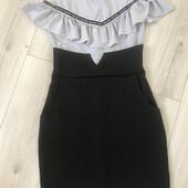Платье обманка на подростка