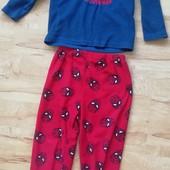 Теплая пижама человек паук, спайдермен 116 р. уп15%, нп5% скидка