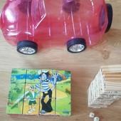 Набор игрушек для мальчика/девочки Дженга или пазл кубики уп15%,нп5%скидка