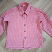 Фірменна стильна рубашечка, стан нової, 10% знижка на УП