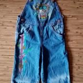 Качественный джинсовый комбинезон Gloria Jeans на малышку. См замеры.
