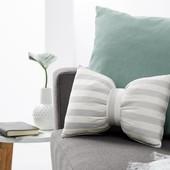 Декоративная полосатая подушка без завязки от Tcm Tchibo, Германия