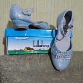 Нарядные туфельки размер 27 (17.5 cм)