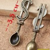 Cувенир-талисман для привлечения денег в кошелек ложка-загребушка на выбор, УП 17 грн