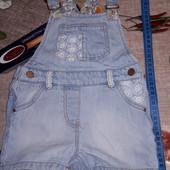 Классный джинсовый комбез от 9-1,5 года лет смотрите замеры