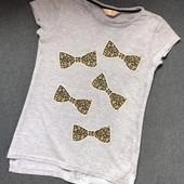 Удлиненная футболка для девочки