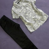 Комплект костюм брюки и рубашка на 6-7лет