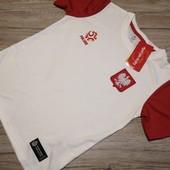 Польша! Спортивная футболка на мальчика, размер 140 см рост, для физры!