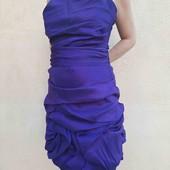 Нарядное фиолетовое платье