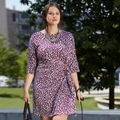 Комфортное трикотажное платье из вискозы от Tchibo(Германия), размеры 44/46 L