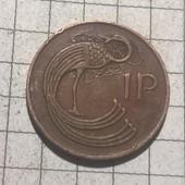 Монета Ирландии 1 пенни 1971
