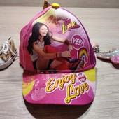 Польша!!! Яркая кепка для девочки! 52 размер!