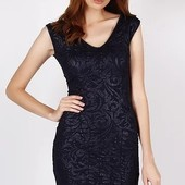 Женское платье т.синее Л