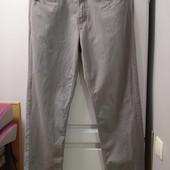 Котоновые фирменные штаны, легкие. 100 % коттон. Р-р 32/32, идут на М-L, смотрите замеры.