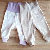Набор штанців на вашу малечу, розмір 50/56, на 0-2 місяці, бренд lupilu Геpманія