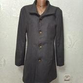 Супер классное стильное весеннее серое пальто Новое Акция читайте