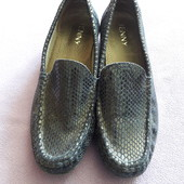 Туфли мокасины кожа натур Jenny р 6 ,25 см